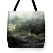 Point Danger Tote Bag by Shanina Conway