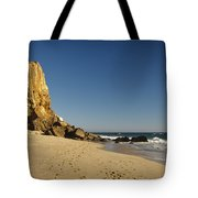 Point Dume At Zuma Beach Tote Bag by Adam Romanowicz