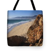 Point Dume Overlooking Zuma Beach Tote Bag