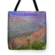 Point Imperial On North Rim Of Grand Canyon National Park-arizona   Tote Bag