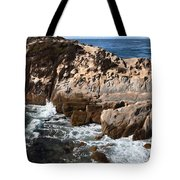 Point Lobos Coast 2 Tote Bag