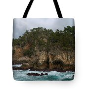 Point Lobos Coastal View Tote Bag