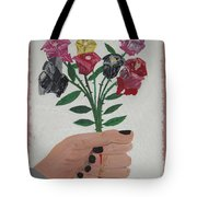 Point Of Beauty Tote Bag
