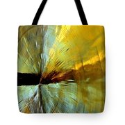 Point Of Impact In Copper And Green2 Tote Bag