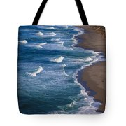 Point Reyes Long Beach Tote Bag by Garry Gay