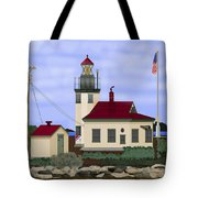 Point Robinson With Shoreline Detail 2013 Tote Bag