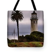 Point Vincente Lighthouse Tote Bag