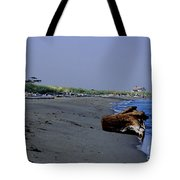 Point Wilson Lighthouse And Beach Tote Bag