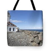 Point Wilson Lighthouse Tote Bag