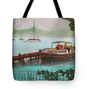 Pointe-a-pitre Martinique Across From Fort Du France Tote Bag