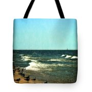 Pointed Into The Wind Tote Bag