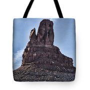 Pointing Towards The Heavens Tote Bag