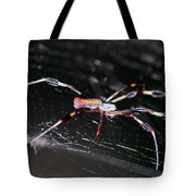 Points Of Contact - Spider - Orb Weaver Tote Bag
