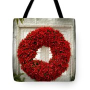Pointsetter Christmas Reef Tote Bag