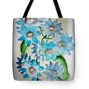 Pointy Petals Tote Bag