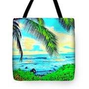 Poipu Sunrise Tote Bag
