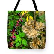 Poke And Bracket Fungi Tote Bag