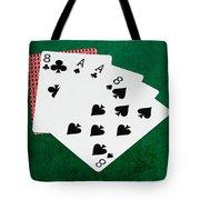 Poker Hands - Dead Man's Hand 2 V.2 Tote Bag