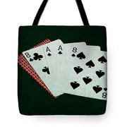 Poker Hands - Dead Man's Hand Tote Bag