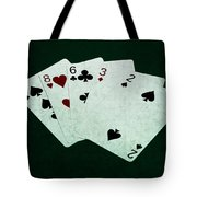 Poker Hands - High Card 4 Tote Bag