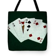 Poker Hands - One Pair 1 Tote Bag