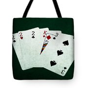 Poker Hands - Three Of A Kind 1 Tote Bag