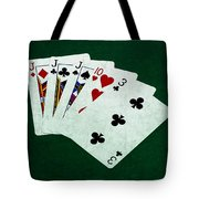 Poker Hands - Three Of A Kind 3 Tote Bag