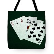 Poker Hands - Three Of A Kind 4 Tote Bag