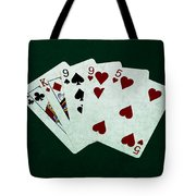 Poker Hands - Two Pair 1 Tote Bag
