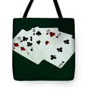 Poker Hands - Two Pair 4 Tote Bag