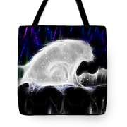 Polar And Snow Tote Bag