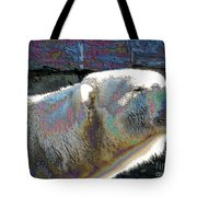 Polar Bear With Enameled Effect Tote Bag