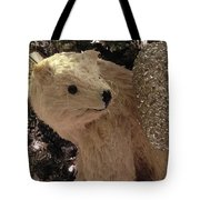 Polar Bear With Ornaments Tote Bag