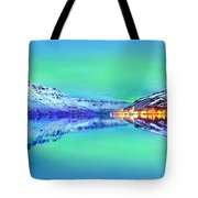 Polar Lights Aurora Borealis Or Just Haven Tote Bag