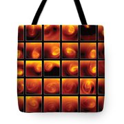 Polar Vortex On Venus Tote Bag