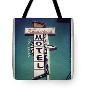 Polaroid Transfer Motel Tote Bag by Jane Linders