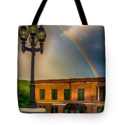 Police At The End Of The Rainbow Tote Bag