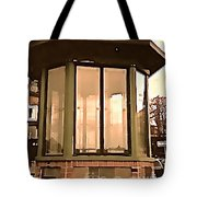 Police Booth Tote Bag