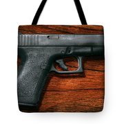Police - Gun - The Modern Gun  Tote Bag
