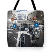 Police Honda Tote Bag