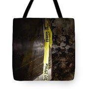 Police Tape Tote Bag
