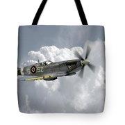 Polish Spitfire Ace Tote Bag