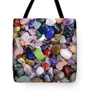 Polished Gemstones Tote Bag
