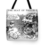 Political Cartoon, 1916 Tote Bag