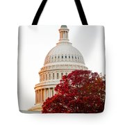 Politics Seeing Red Tote Bag by Greg Fortier