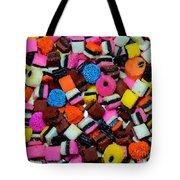 Polka Dot Colorful Candy Tote Bag