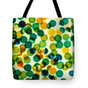 Pollen Grains Lm Tote Bag by Jacana