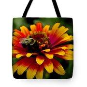 Pollenating Bumblebee Tote Bag