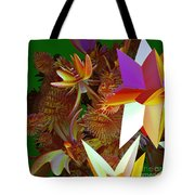 Pollination By Jammer Tote Bag