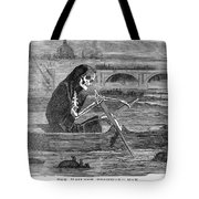 Pollution Thames River Tote Bag